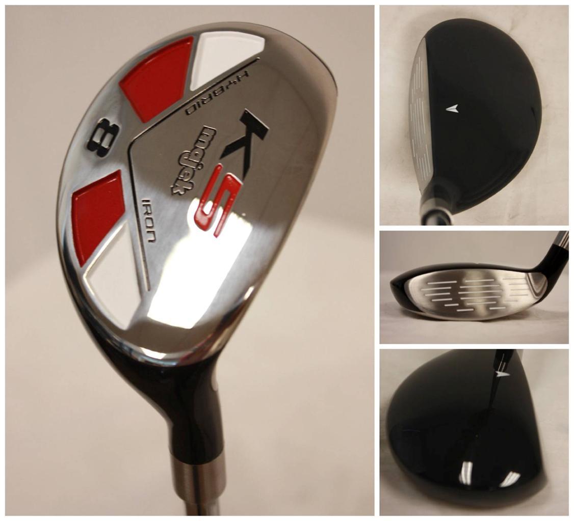 senior majek custom made 8 hybrid golf clubs graphite a. Black Bedroom Furniture Sets. Home Design Ideas