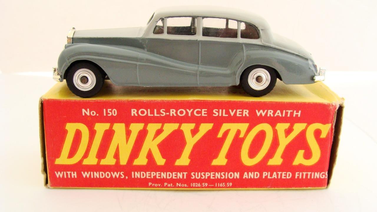 nuevo sádico Vintage Dinky Juguetes 115 Rolls Rolls Rolls Royce plata Wraith MIB + Caja Original Reino Unido Coche de juguete  hasta un 60% de descuento