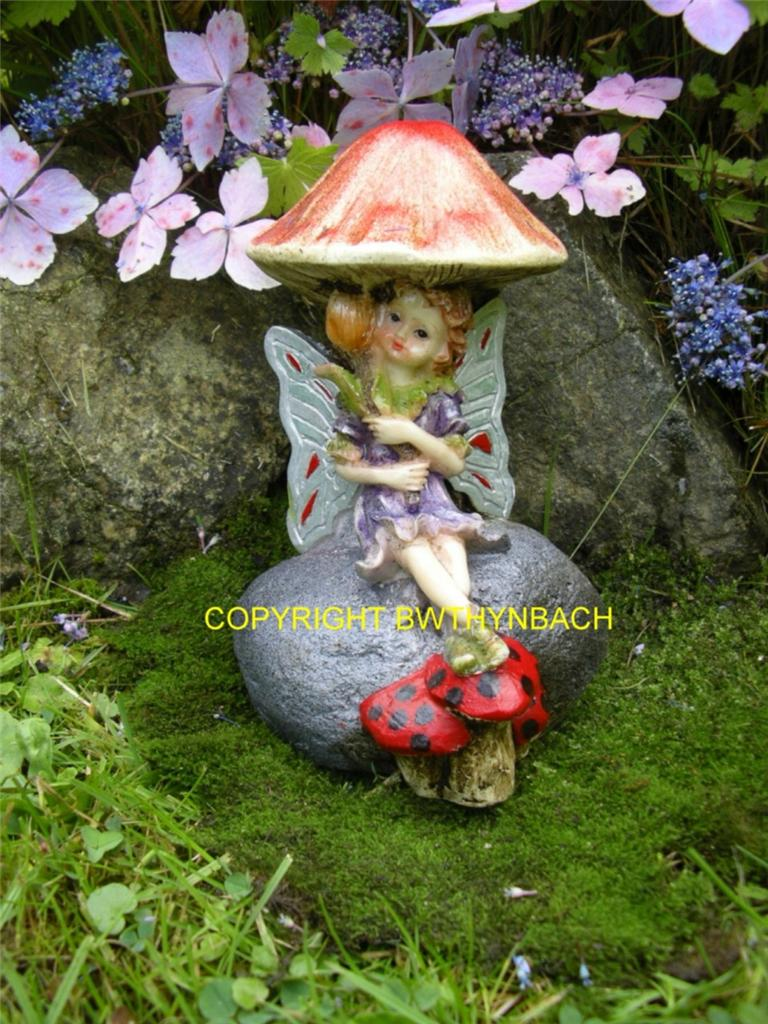 NEW RUBBER LATEX MOULDS MOLD TOADSTOOL MUSHROOM FAIRY