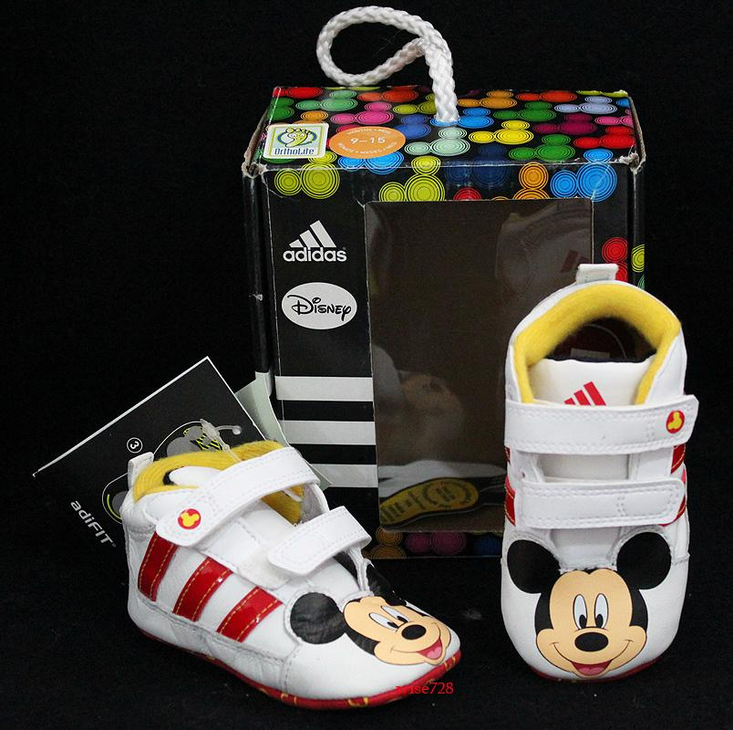 Mickey Mouse Adidas Crib Shoes