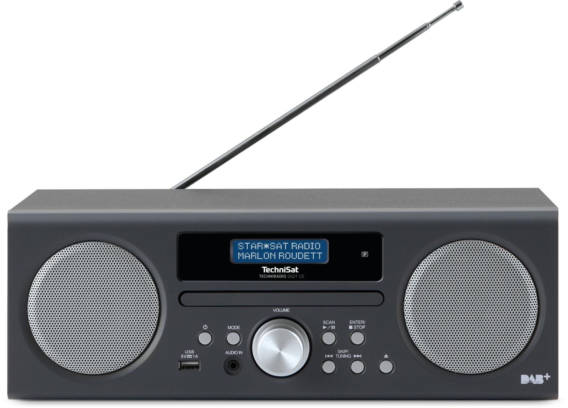 technisat techniradio dab digit digital radio with cd. Black Bedroom Furniture Sets. Home Design Ideas