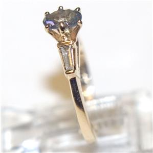 6ef182b8c1352 Details about ESTATE 14K GOLD RUSSIAN ALEXANDRITE RING