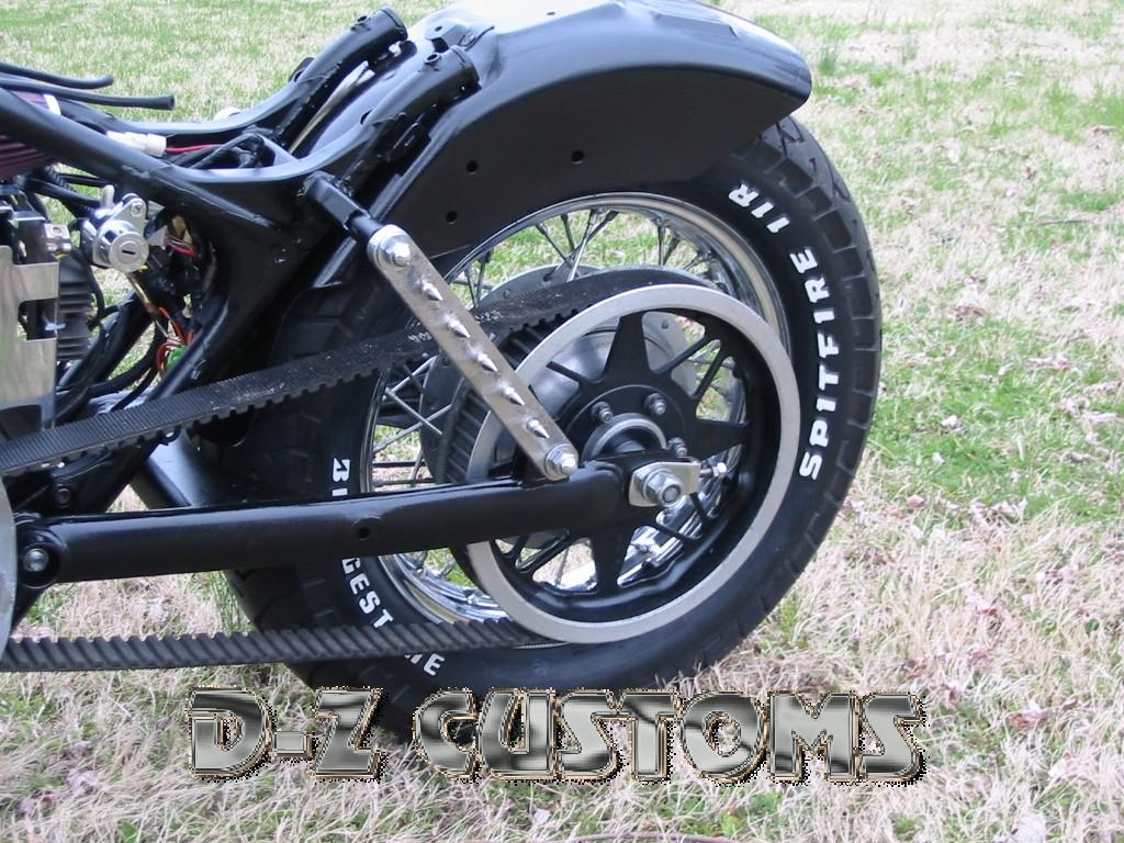 Honda Shadow 600 Hardtail Strut