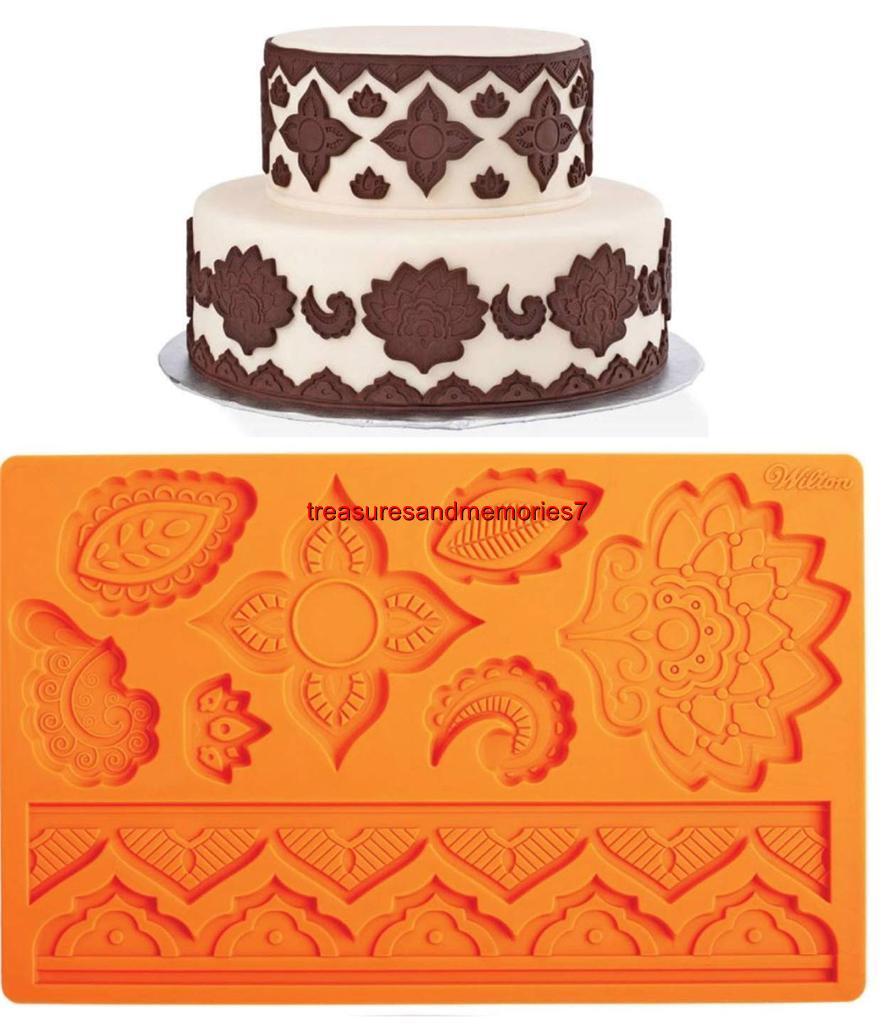 Wilton FONDANT & GUM PASTE MOLDS You Choose Your Design! | eBay