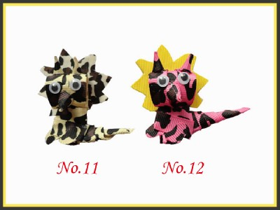 200 Girls Bug Toddler Hair Clip bows Dinosaur Flower Frog