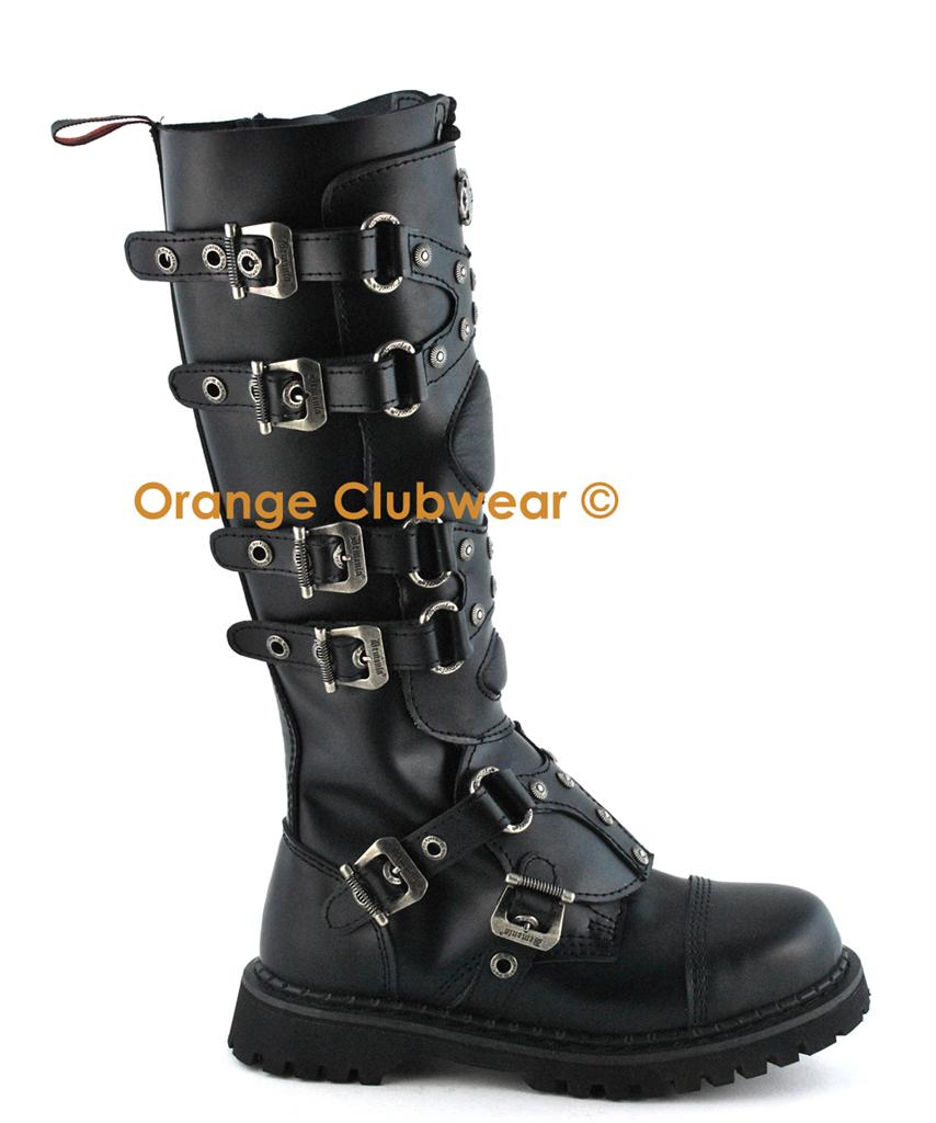Gothic combat boots