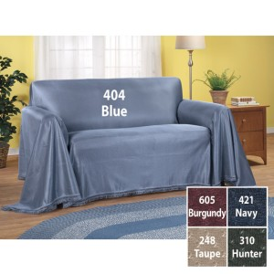 Sofa Throw Cover Burgundy Large 70 Quot W X 170 Quot L