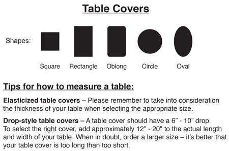 Granite Vinyl Banquet Table Cover With Elastic Edges