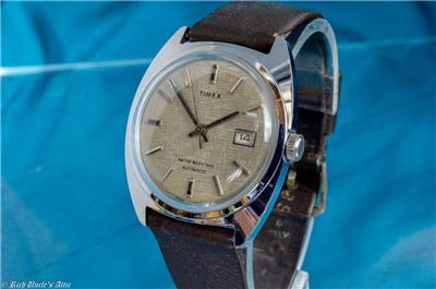 Idea useful vintage mens timex are