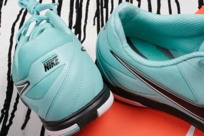 newest 36192 0be06 ... new in box nike calypso teal blue black white nike5 lunar gato indoor  Nike5  Lunar Gato Indoor Soccer Shoes ...