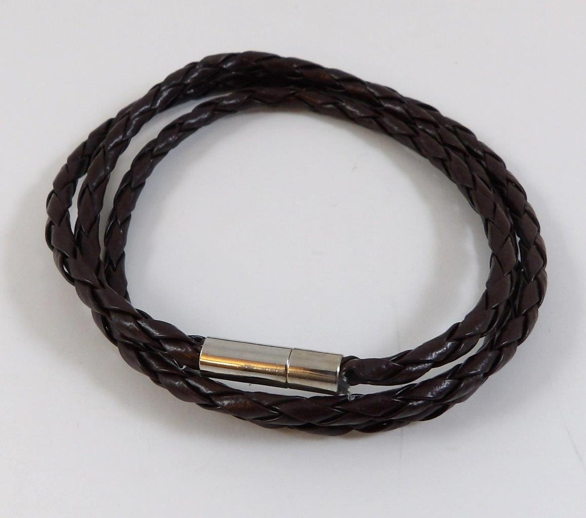 Popular Women039s Bracelets: New Unisex Men's/women's Genuine Leather Cord Necklace