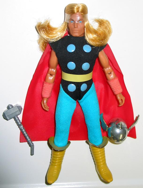 AFA 85 MEGO THOR 70s 8 Super Hero Movie Action Figure Avengers Doll