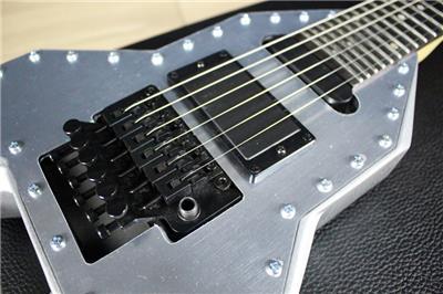new signed dean mab michael angelo batio rocket electric guitar silver ebay. Black Bedroom Furniture Sets. Home Design Ideas