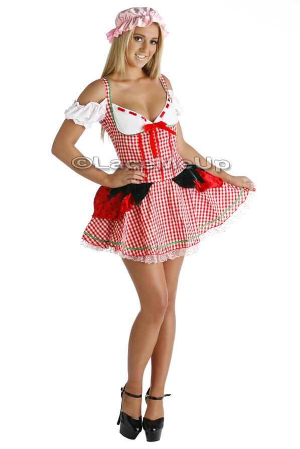 Strawberry Shortcake Adult Costume 29