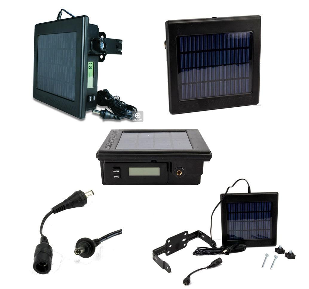 Genuine Moultrie Feeders Game Camera 12 Volt Solar Power