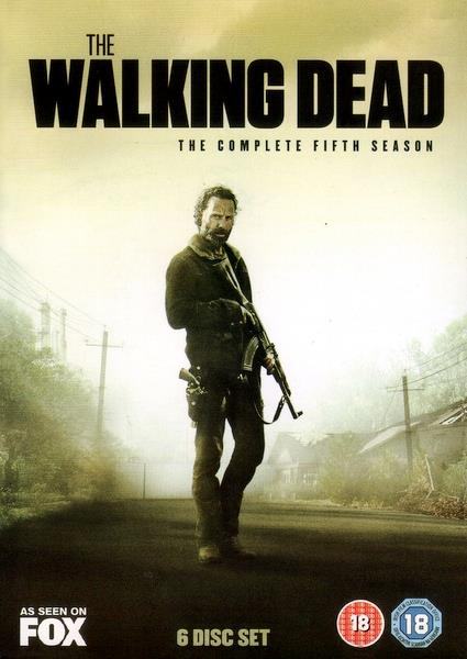 ANDREW LINCOLN - THE WALKING DEAD : THE COMPLETE SEASON 5 - DVD x 6