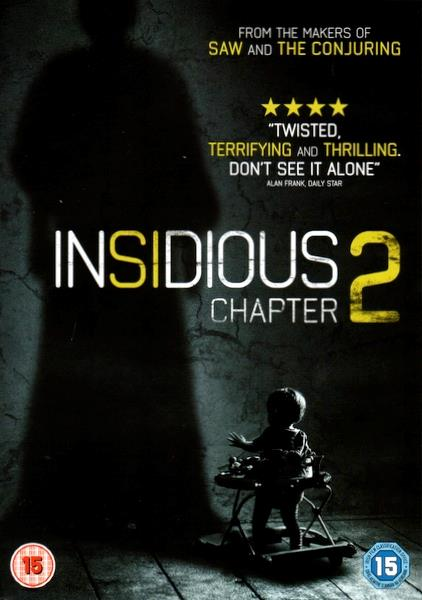JAMES WAN - INSIDIOUS : CHAPTER 2 - DVD