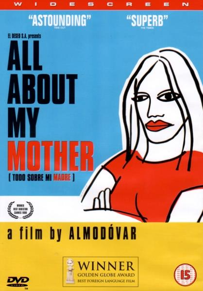PEDRO ALMODOVAR - ALL ABOUT MY MOTHER - DVD