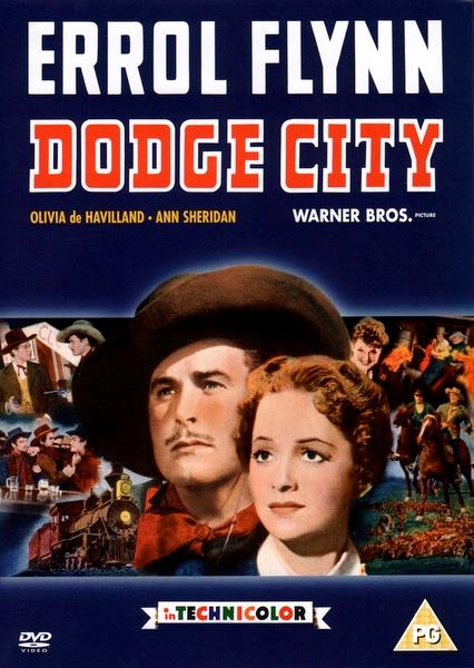 ERROL FLYNN - DODGE CITY - DVD