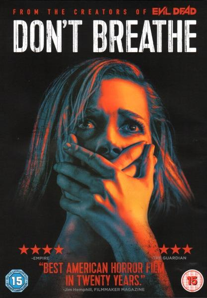 FEDE ALVAREZ - DON'T BREATHE - DVD