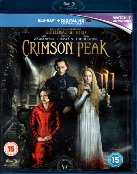 GUILLERMO DEL TORRO - CRIMSON PEAK - Blu-ray Disc