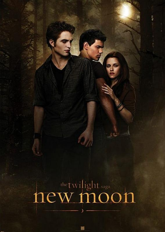 GIANT POSTER (100CM X 140CM) - TWILIGHT NEW MOON : ONE SHEET - Poster / Display