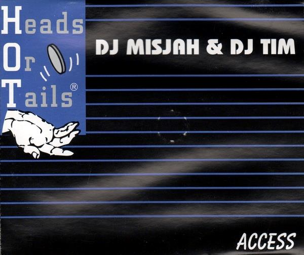 DJ MISJAH & TIM - ACCESS - CD single