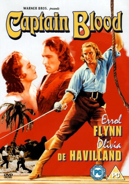 ERROL FLYNN - CAPTAIN BLOOD - DVD