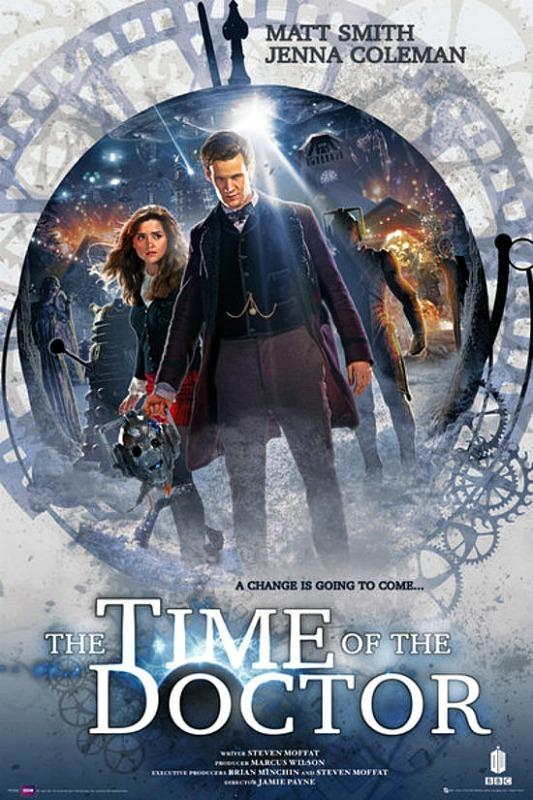 MAXI POSTER (61cm x 91.5cm) DOCTOR WHO : TIME OF THE DOCTOR