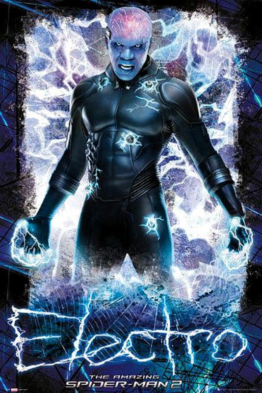 MAXI POSTER (61cm x 91.5cm) THE AMAZING SPIDER-MAN 2 : ELECTRO