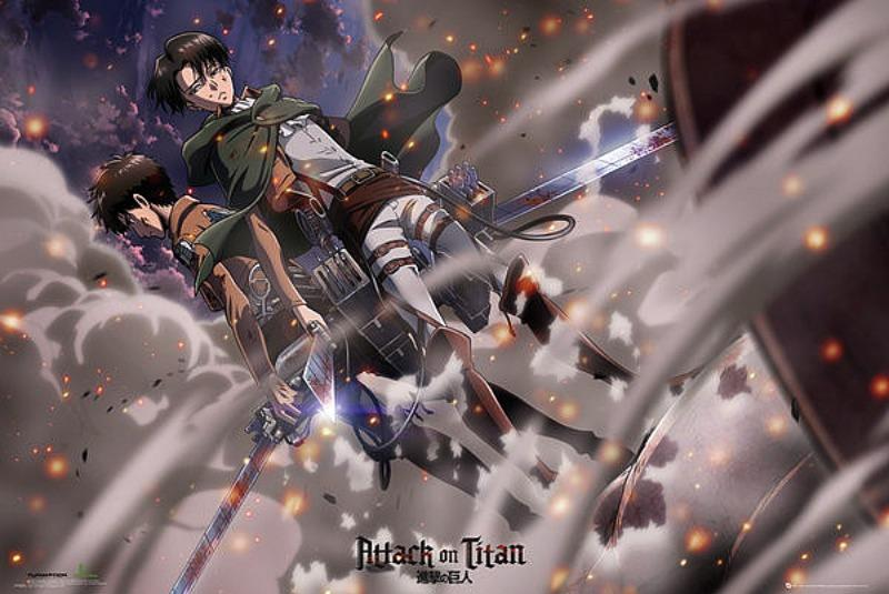 MAXI POSTER (91.5CM X 61CM) - ATTACK ON TITAN : SHINGEKI NO KYOJIN - Poster / Display