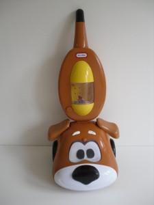 Little Tikes Bark Bark Mitts Dog Vacuum Hoover Toy