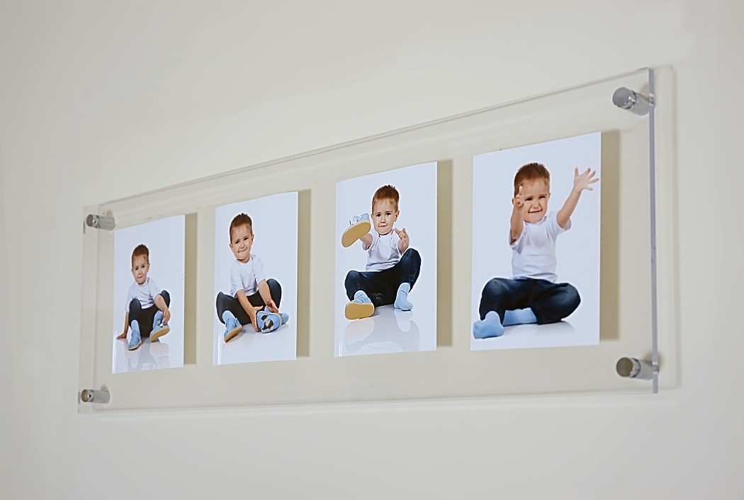 Multi picture photo frame 10 x 7/10 x 8 \