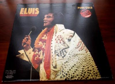 Elvis Presley Pure Gold 1975 Rca Ayl1 3732 Best Buy Series