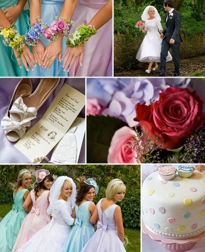 wedding ideas and themes does anyone pictures of a pastel rainbow themed 27960