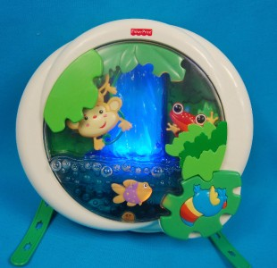 Fisher Price Baby Crib Soother Music Toy Rainforest Jungle