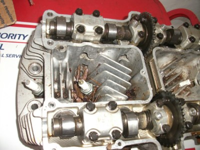 1981 Yamaha Seca Maxim XJ 750 XJ750 Engine Motor Cylinder Piston Jugs Head