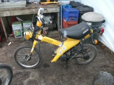 Explain Tire Sizes >> 1982 Yamaha Towny MJ50 MJ 50 Scooter Moped Front Wheel ...