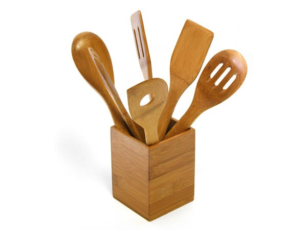 Solid Green 6pc Bamboo Spoon & Spatula Kitchen Utensil Set w/ Caddy on kitchen spoons, kitchen dishes, kitchen tables, kitchen shower, kitchen cabinets, kitchen design, kitchen appliances, kitchen equipment, kitchen tools, kitchen backsplash, kitchen cutlery, kitchen pans, kitchen items, kitchen clipart, kitchen supplies, kitchen cutting boards, kitchen stuff, kitchen accessories, kitchen food, kitchen pots,