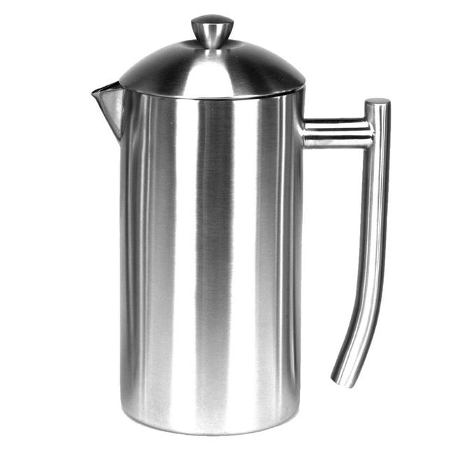 Frieling Brushed Stainless Steel French Press Coffee Maker
