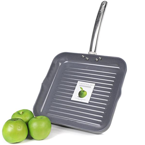 Bring Healthy Cooking And Convenience Into The Kitchen With Greenpan Professional Series 11 Non Stick Square Grill Pan Cook Like A This