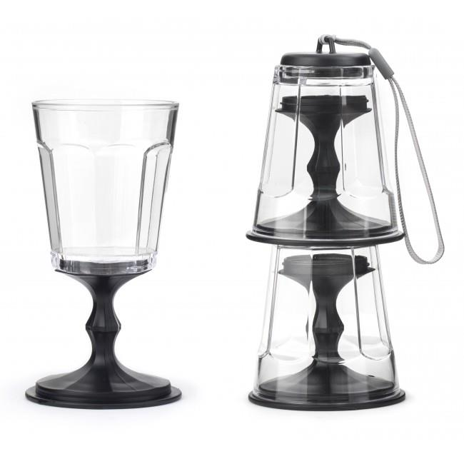stackable wine glasses