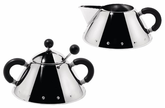 Alessi Replacement Lid for the 9097 Sugar Bowl by Michael Graves