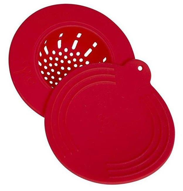 Core Kitchen Clean Solutions In Sink Silicone Drain Strainer With Lid Red 848974038717 Ebay