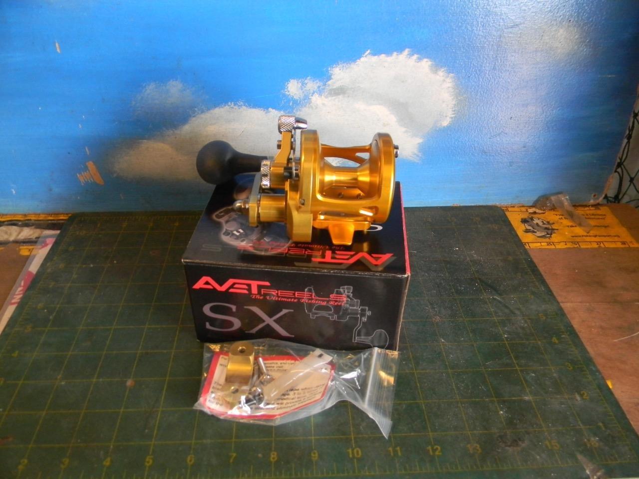 AVET SX 5.3 G2 MC  gold LEVER DRAG FISHING REEL-NEW IN BOX