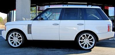 "22"" Oxford Wheels Rims Range Rover Sport HSE Land Rover LR3 Set of 4"