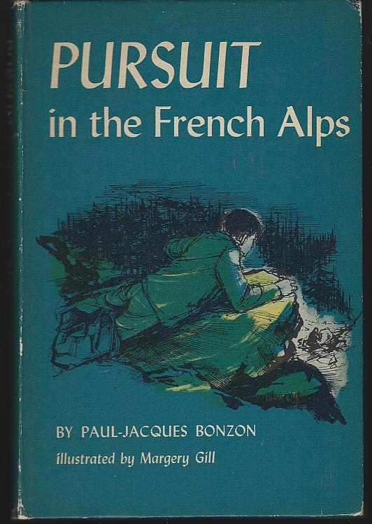 PURSUIT IN THE FRENCH ALPS, Bonzon, Paul-Jacques