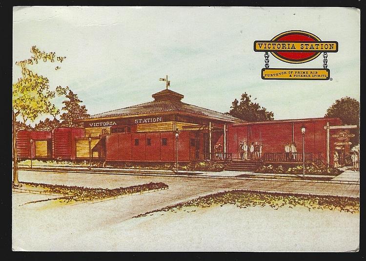 Image for VICTORIA STATION RESTAURANTS