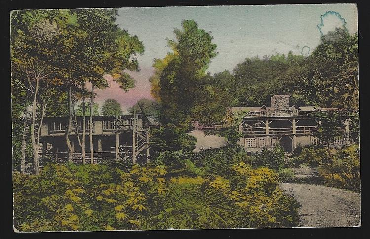 LONG TRAIL LODGE, RUTLAND, VERMONT, Postcard