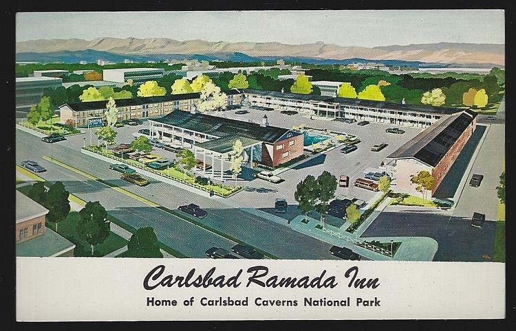 CARLSBAD RAMADA INN, CARLSBAD, NEW MEXICO, Postcard